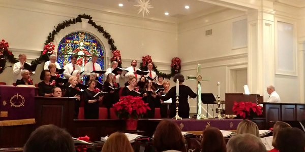 image choir worship Bluffton UMC