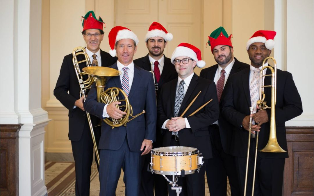 Charleston Symphony Orchestra Holiday Brass Concert – December 17, 2019 at 7 PM