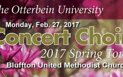 Otterbein University Concert Choir Performs at BUMC – Monday, February 27, 2017