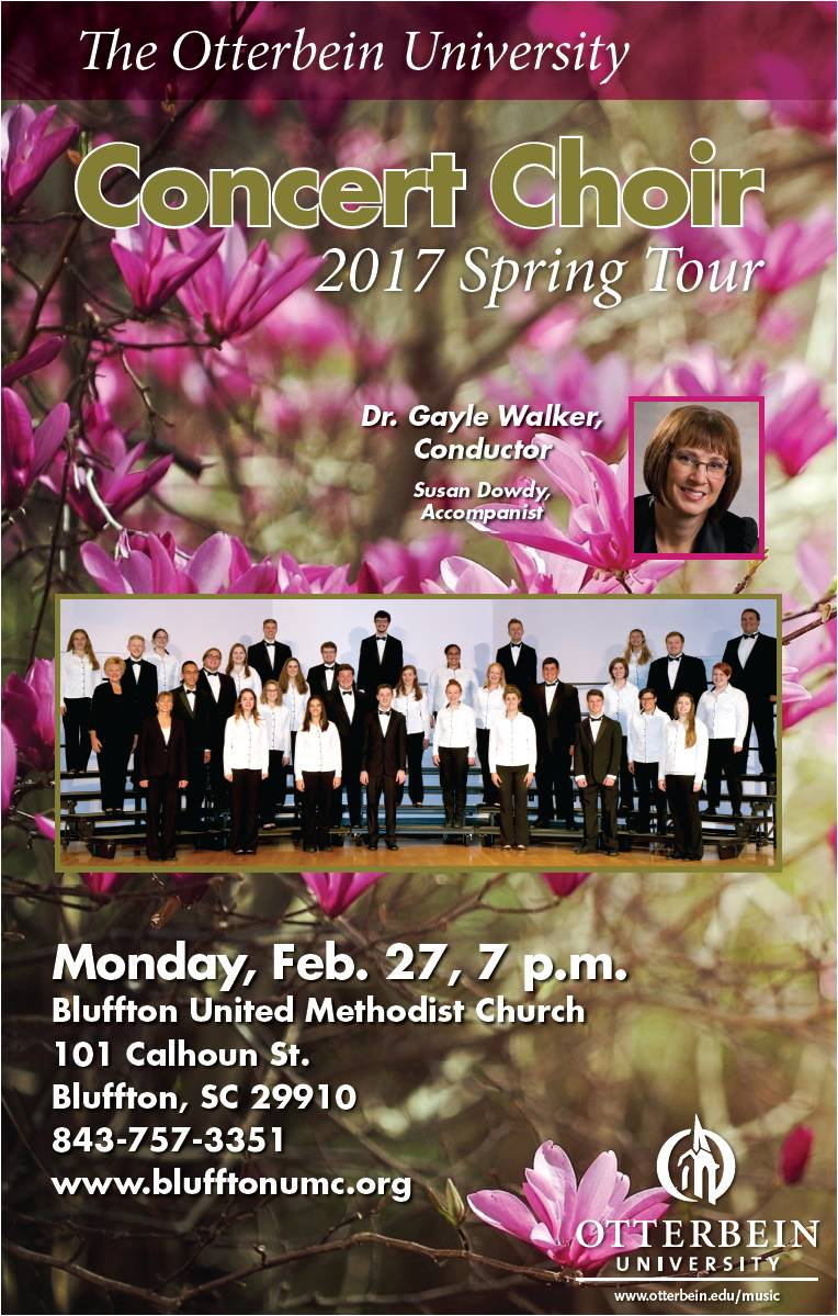 Otterbein University Choir Performs