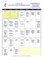 BUMC Newsletter February 2017
