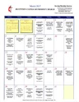 BUMC Newsletter March 2017
