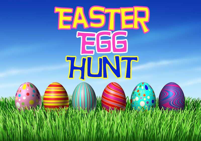 Easter Egg Hunt April 1st at 4 PM