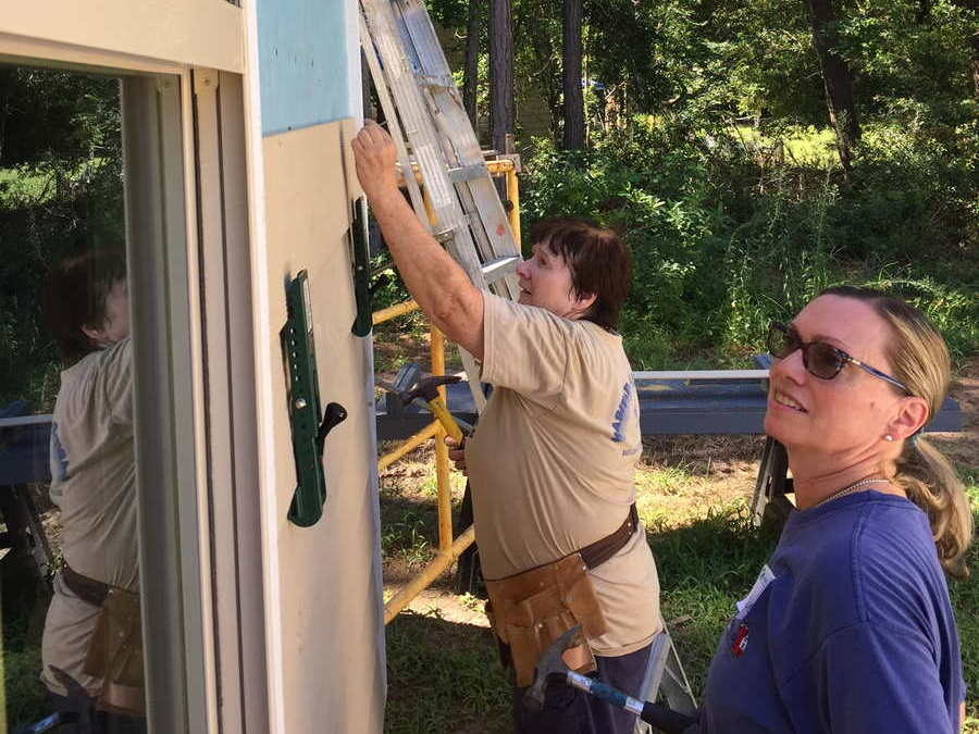 BUMC Helps to Build a Home