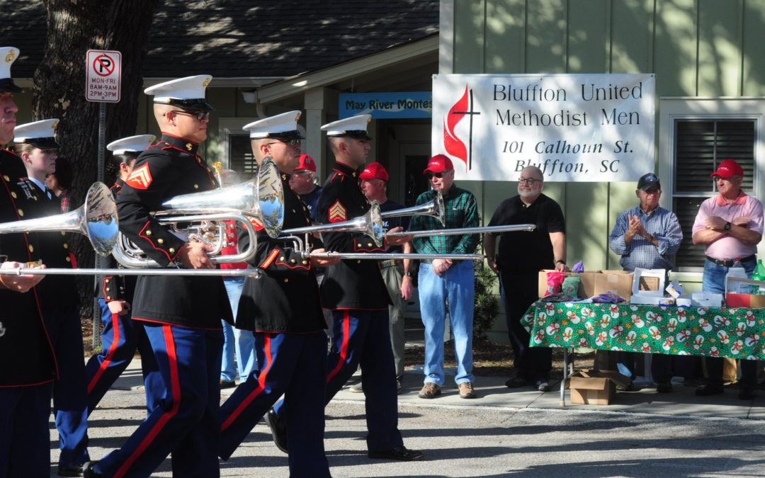 Bluffton UMW and BUMMs support Bluffton 2017 Christmas Parade