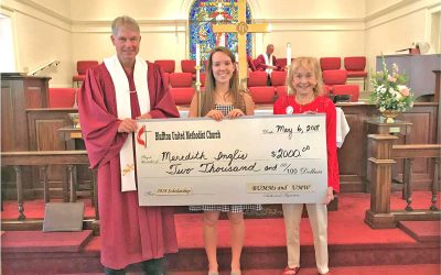 Scholarship for Meredith Inglis from UMW and BUMMs