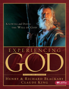 Experiencing God – New Bible Study begins September 6
