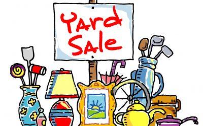 United Methodist Women's Yard Sale – May 11, 2019